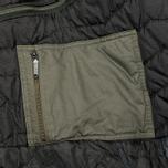 Женская куртка парка Maharishi Quilted Tri Border Black фото- 5