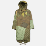 maharishi Quilted Tri Border Women's Parka Olive photo- 0