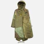 maharishi Quilted Tri Border Women's Parka Olive photo- 1