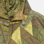 maharishi Quilted Tri Border Women's Parka Olive photo- 2