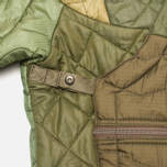 maharishi Quilted Tri Border Women's Parka Olive photo- 3