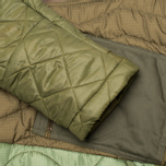maharishi Quilted Tri Border Women's Parka Olive photo- 5