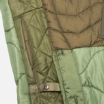 maharishi Quilted Tri Border Women's Parka Olive photo- 6