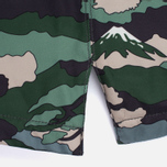 Женская куртка парка Maison Kitsune Landscape Padded Khaki фото- 5