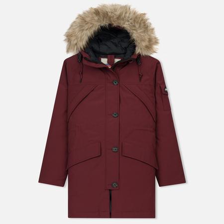 Женская куртка парка Penfield Hoosac FF Burgundy