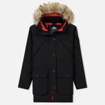 Женская куртка парка Penfield Hoosac FF Hoodie Parka Black фото- 0