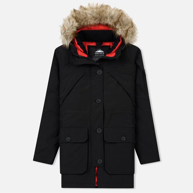 Женская куртка парка Penfield Hoosac FF Hoodie Parka Black