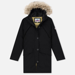 Женская куртка парка Penfield Hoosac Hooded Down Mountain Black фото- 0
