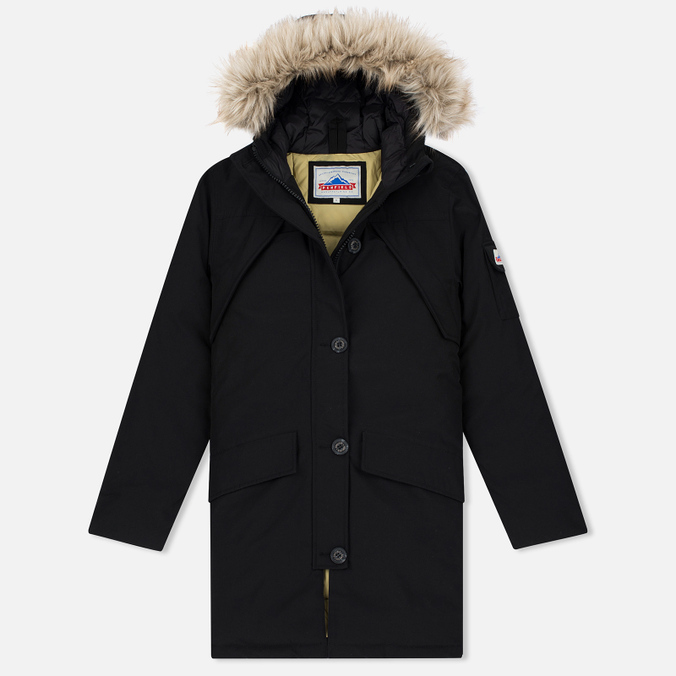 Женская куртка парка Penfield Hoosac Hooded Down Mountain Black