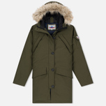 Женская куртка парка Penfield Hoosac Hooded Down Mountain Lichen фото- 0