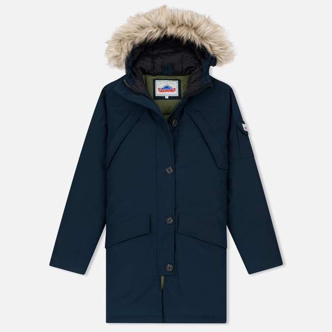 Женская куртка парка Penfield Hoosac Hooded Down Mountain Navy