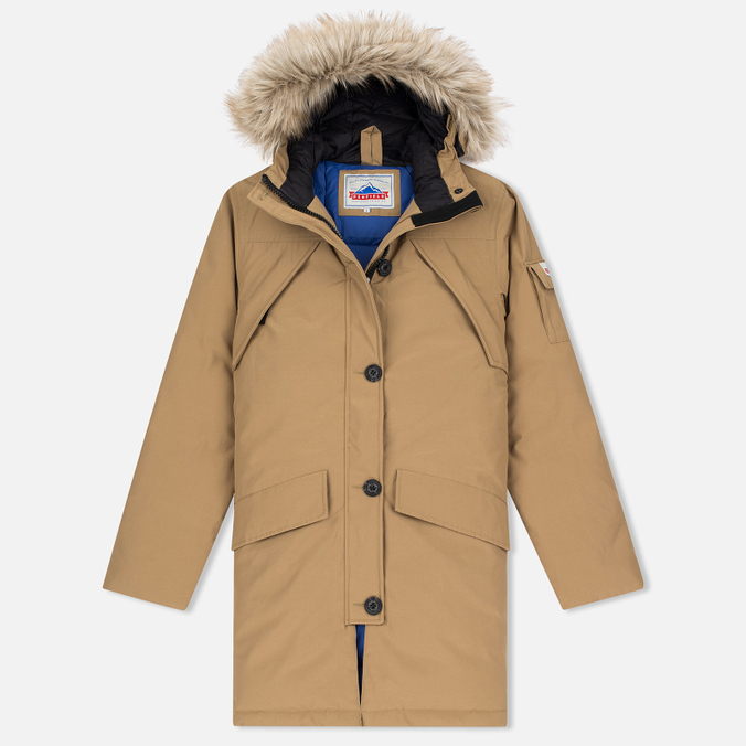 Женская куртка парка Penfield Hoosac Hooded Down Mountain Tan