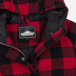 Женская куртка парка Penfield Kingman Buffalo Plaid Red/Black фото- 1