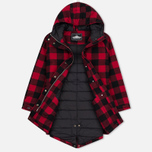 Женская куртка парка Penfield Kingman Buffalo Plaid Red/Black фото- 2