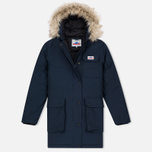 Женская куртка парка Penfield Lexington Hooded Mountain Navy фото- 0