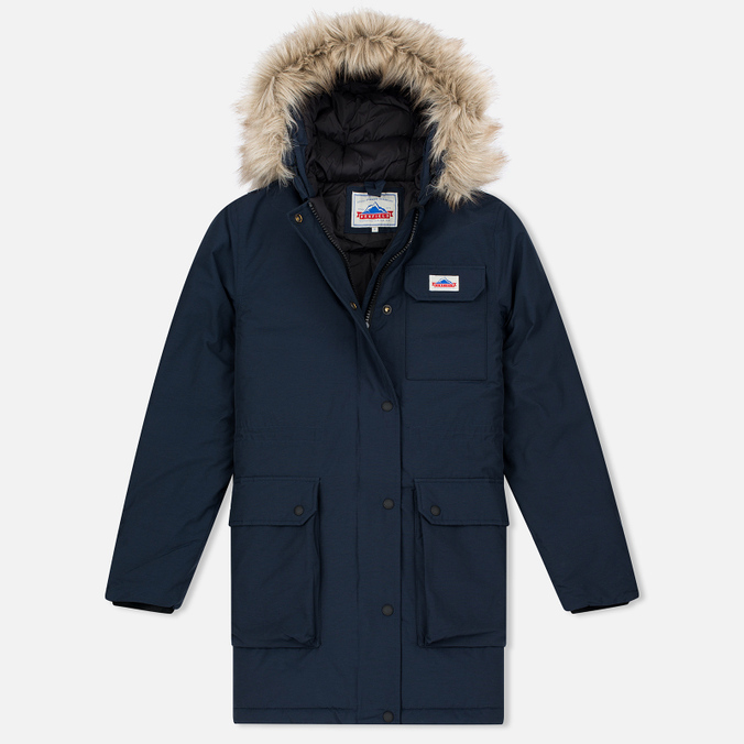 Женская куртка парка Penfield Lexington Hooded Mountain Navy