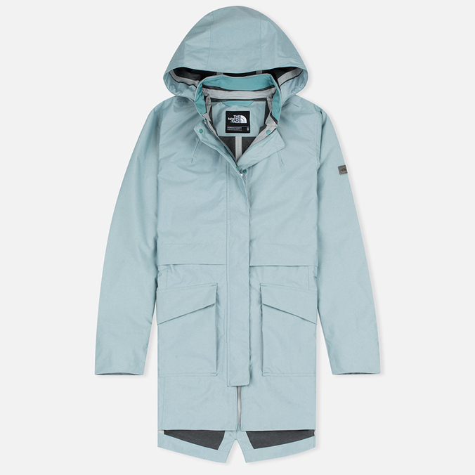 Женская куртка парка The North Face Great Sandy Mineral Blue