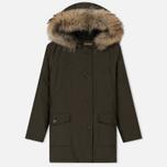 Женская куртка парка Woolrich Arctic DF Regular Fit Dark Green фото- 0