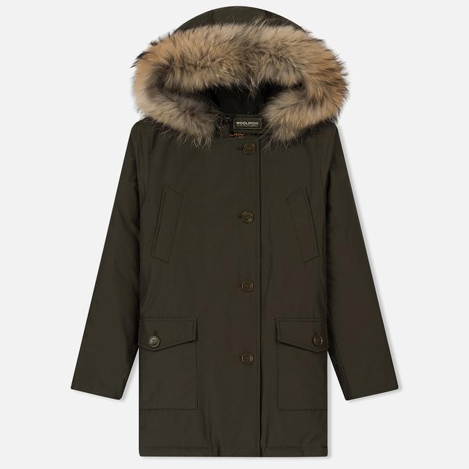 Женская куртка парка Woolrich Arctic DF Regular Fit Dark Green