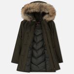 Женская куртка парка Woolrich Arctic DF Regular Fit Dark Green фото- 1