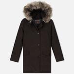 Женская куртка парка Woolrich Arctic DF Wood Brown фото- 0