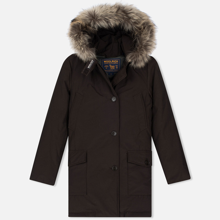 Woolrich Arctic DF Women's Parka Wood Brown
