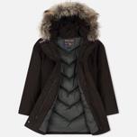 Женская куртка парка Woolrich Arctic DF Wood Brown фото- 1