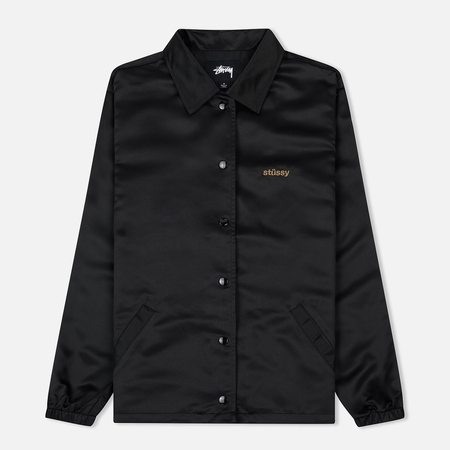 Женская куртка Stussy Leland Coach Black