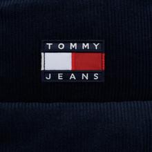 Женский пуховик Tommy Jeans Corduroy Puffer Black Iris фото- 4