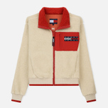 Женская куртка Tommy Jeans Flag Bomber Expedition 6.0 Sherpa фото- 0