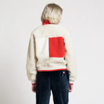 Женская куртка Tommy Jeans Flag Bomber Expedition 6.0 Sherpa фото- 9