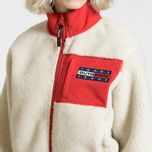 Женская куртка Tommy Jeans Flag Bomber Expedition 6.0 Sherpa фото- 11