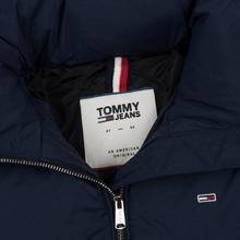 Женская куртка Tommy Jeans Modern Puffer Black Iris фото- 1