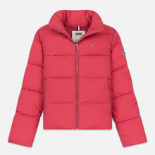 Женская куртка Tommy Jeans Modern Puffer Claret Red фото- 0