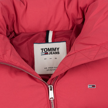 Женская куртка Tommy Jeans Modern Puffer Claret Red фото- 1