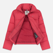 Женская куртка Tommy Jeans Modern Puffer Claret Red фото- 2
