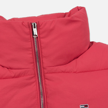 Женская куртка Tommy Jeans Modern Puffer Claret Red фото- 3