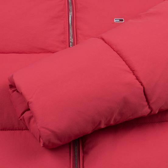 Женская куртка Tommy Jeans Modern Puffer Claret Red