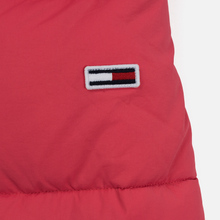 Женская куртка Tommy Jeans Modern Puffer Claret Red фото- 7