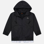 Женская куртка ветровка Evisu Print Pleated Black фото- 0
