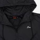 Женская куртка ветровка Evisu Print Pleated Black фото- 1