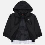 Женская куртка ветровка Evisu Print Pleated Black фото- 2