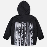 Женская куртка ветровка Evisu Print Pleated Black фото- 4