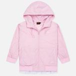 Женская куртка ветровка Evisu Print Pleated Pink фото- 0