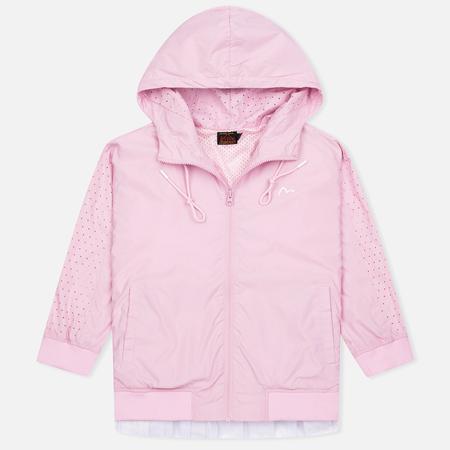 Evisu Print Pleated Women's Windbreaker Pink