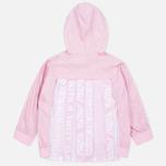 Женская куртка ветровка Evisu Print Pleated Pink фото- 5