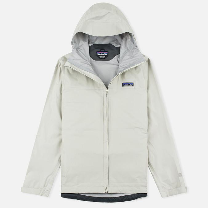 Женская куртка ветровка Patagonia Torrentshell Bleached Stone