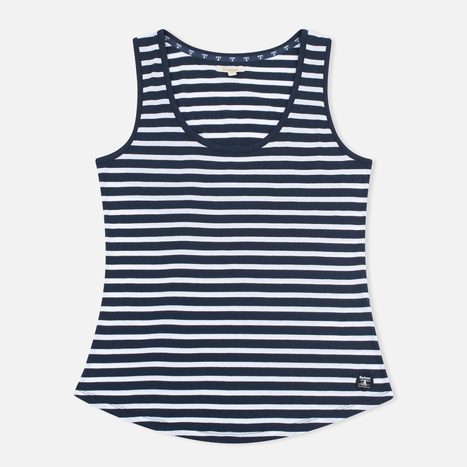 Barbour Hackamore Vest Women's t-shirts Navy