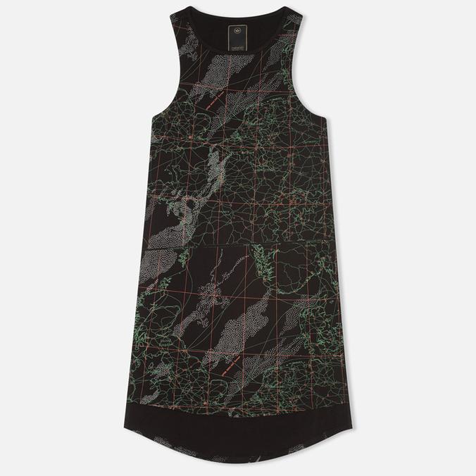 maharishi MAH.SAT. Singlet Women's T-shirt Black
