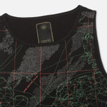 maharishi MAH.SAT. Singlet Women's T-shirt Black photo- 2